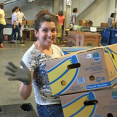 Gradient Employees Volunteer at Local Food Banks